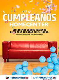 Cumpleaños Homecenter