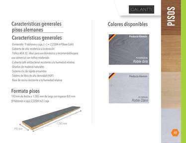 Catálogo Pisos- Page 1