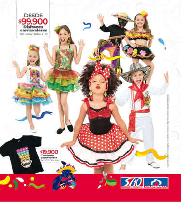 Catálogo Ofertas Carnaval Olímpica 2020- Page 1