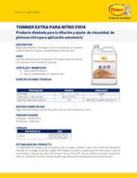 Thinner extra nitro 21014