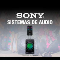 Sony sistemas de audio