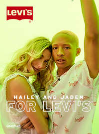 Hailey and Jaden for Levi's