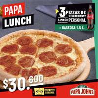 Papa lunch