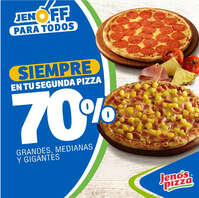Jenos pizza promo