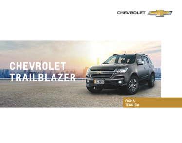 Chevrolet Trilblazer- Page 1