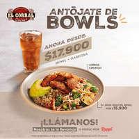 Antójate de bowls