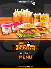 Del Rodeo menú