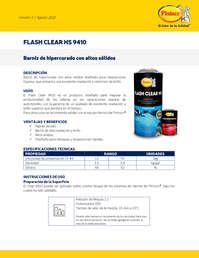 Flash clear 9410