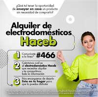 Alquiler Electrodomésticos