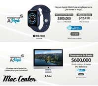 Encuentra en Mac Center