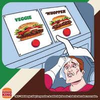 Whopper Veggie mismo sabor sin carne
