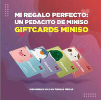 Giftcards Miniso
