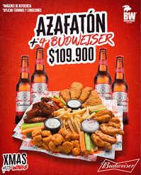 Azafatón + Budweiser