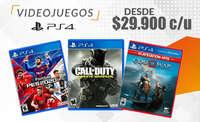 Precio especial juiegos PS4