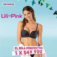Lili pink Bras