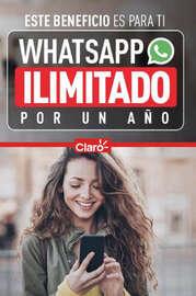 Whatssapp ilimitado por un año