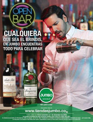 Open Bar Jumbo- Page 1
