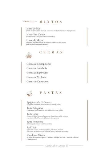 Menú Catering- Page 1