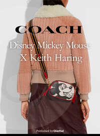 Disney X Keith Haring