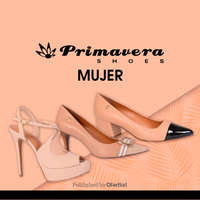 Primavera Shoes mujer
