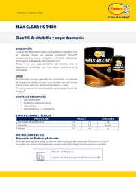 Max Clear Hs 9480