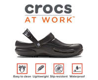 Crocs at work