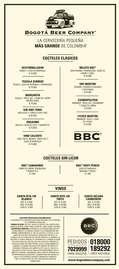 Menú BBC
