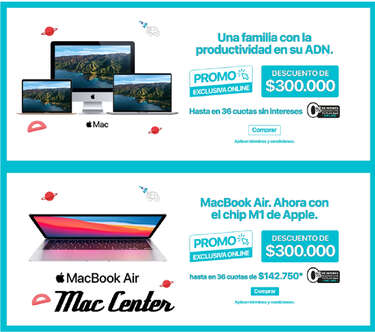 Mac Center Promos- Page 1