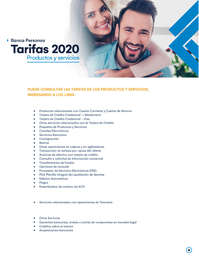 tarifas-2020 Banco de Occidente