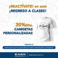 Regresa a clases con camisetas personalizadas