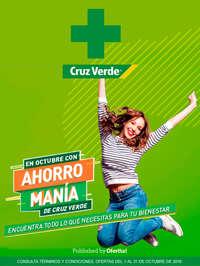 Cruz Verde Ahorro Manía