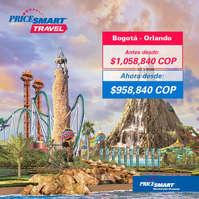 Viaja con Pricesmart