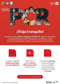 Avianca paga tu PCR