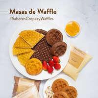 Masa de Waffle