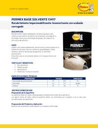Permex base solvente 13417
