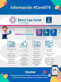Banco Caja Social #COVID 19