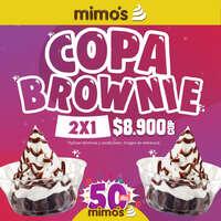 2x1 de copa brownie