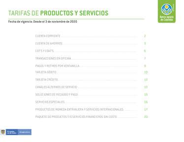 Banco Agrario- Page 1