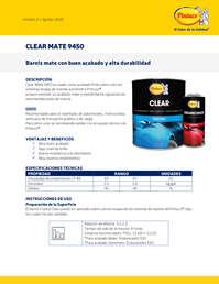 Clear mate 9450