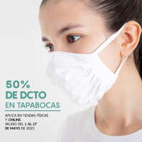 50% de descuento