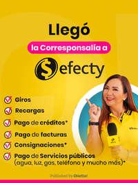 Efecty corresponsalía