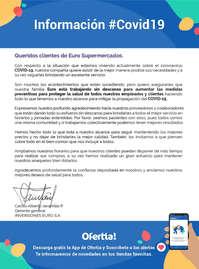 EuroSupermercados covid
