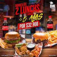 2 Lunchs + 5 Alas