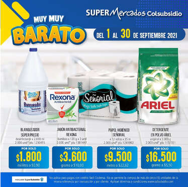 Muy Barato- Page 1