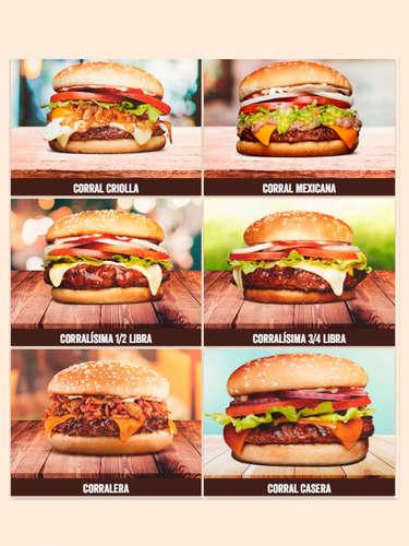 El Corral hamburguesas- Page 1