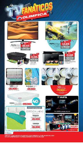 Catálogo TV FANÁTICOS Olímpica- Page 1