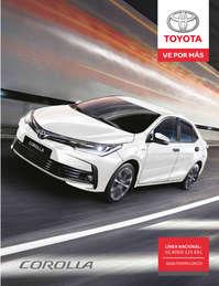 Toyota Corolla XE y SEIG