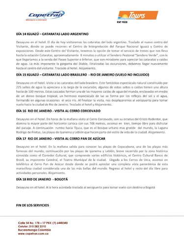 Tours Copetran - América del sur- Page 1
