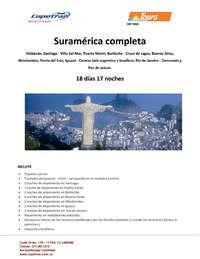 Tours Copetran - América del sur