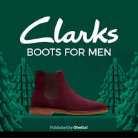 Clarks boots for men